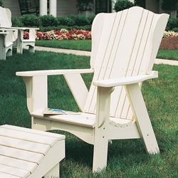 Plantation Outdoor Chair with Footrest Option