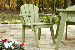 Plaza Outdoor Dining Chair With Arms