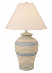 Pottery Pot Lamp