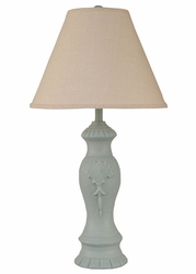 Pottery Shell Pot Lamp