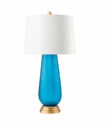 Prague Table Lamp Blue<font color=a8bb35> NEW</font>