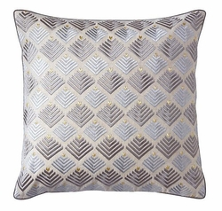 Prism Pillow in Pewter <font color=CF2317> 50% OFF</font>