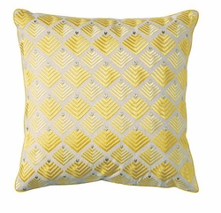 Prism Pillow in Sun Yellow <font color=CF2317> 50% OFF</font>