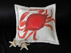 Red Hot Blue Crab Cooked Pillow