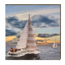 Regatta Beach Wall Art