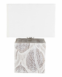 Remy Wood Table Lamp<font color=cf2317> NEW</font>