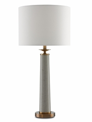 Rhyme Table Lamp Grey<font color=a8bb35> NEW</font>