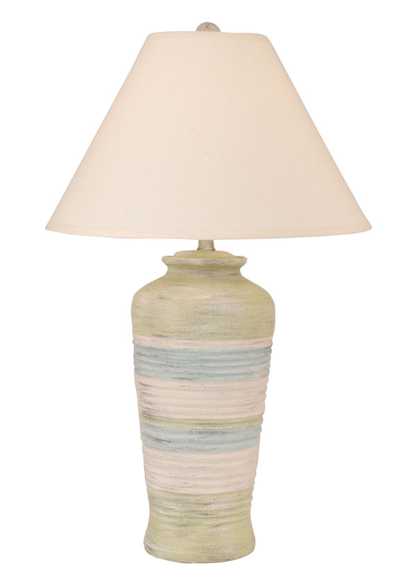 Ribbed Pot Table Lamp For Sale Over 185 Lamps