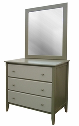 Rockland Bead Board Wide Chest