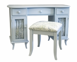 Savannah Dressing Table and Magnolia Bench