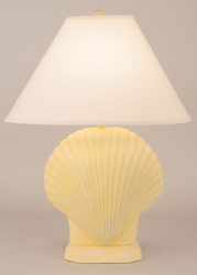 Scallop Shell Pot Lamp