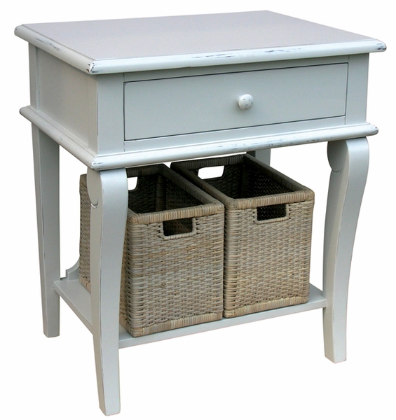 Scroll Side Table <font color=a8bb35> NEW</font>