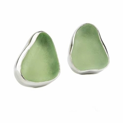 Sea Glass Classic Post Earrings