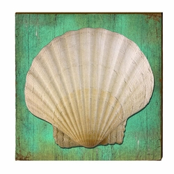 Sea Shell Beach Wall Art