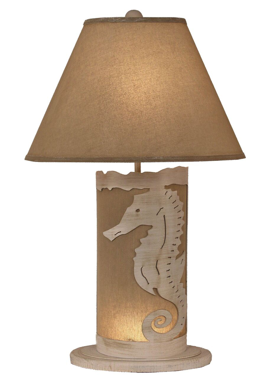 Seahorse Scene Panel With Nightlight Lamp For Sale Over