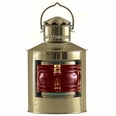 Natuical Brass Side Light, Red