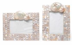 Signature Mother of Pearl Frames in 4x6 and 5x7
