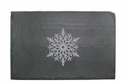 Slate Cheese Server - Paper Snowflake