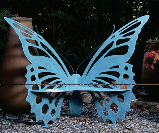 Metal Butterfly Bench Small For Sale Cottage Amp Bungalow