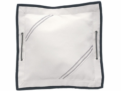 Small Sailcloth Pillow and Insert