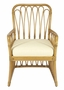 Sona Rattan Arm Chair in Three Colors