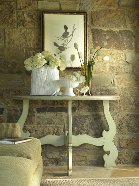 Sonoma Half Round Table In Two Sizes For Sale Cottage