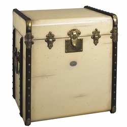 Stateroom Trunk in Ivory or Black
