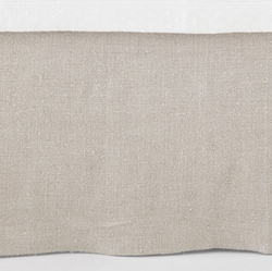 Stone Washed Linen Natural Tailored Bedskirt<font color=cf2317> 20% Off</font>