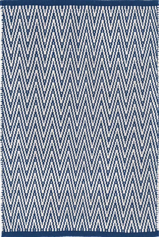 Dash and Albert Streeter Indigo Indoor/Outdoor Rug for Sale ...