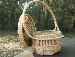 Sweetgrass Handle Baskets <font color=a8bb35> Discontinued</font>