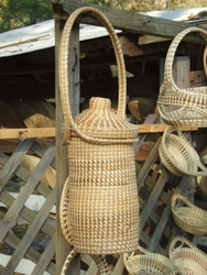 Sweetgrass Wine Carrier <font color=a8bb35> Discontinued</font>