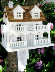 The Cape Cod Cottage Bird Feeder <font color=a8bb35>Low Stock</font>