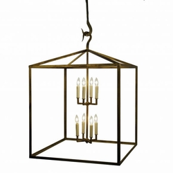The Chippewa Box Heart Chandelier
