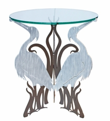 Metal Heron Table