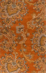 The Sea in Burnt Orange Rug