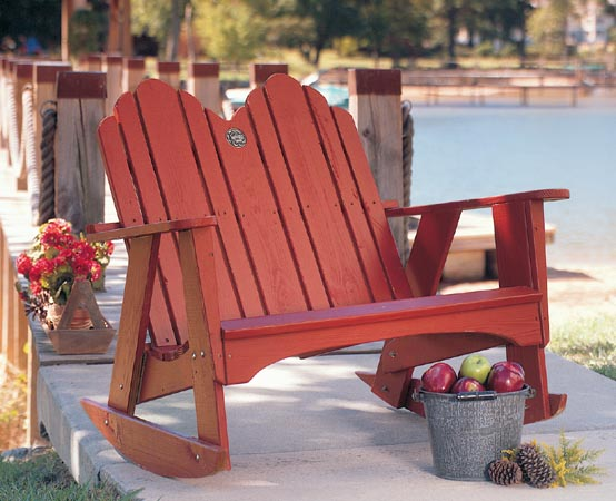 The Spring Lake Two Seater Outdoor Rocker For Sale