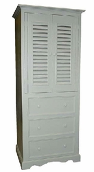 Three Drawer Linen Cabinet