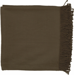 Tian Tian Deep Taupe Throw
