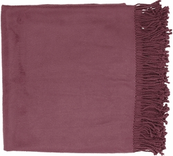 Tian Tian Purple Throw