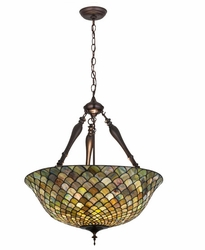 Tiffany Fishscale Chandelier