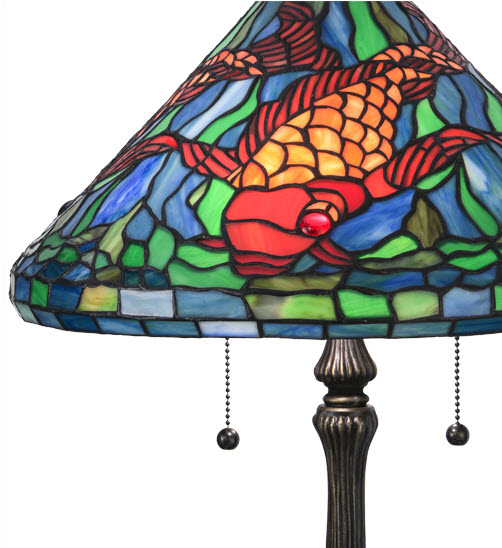 Tiffany Koi Table Lamp For Sale Cottage Amp Bungalow