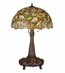 Tiffany Seashell Table Lamp
