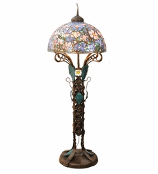 Tiffany Seaside Garden Floor Lamp
