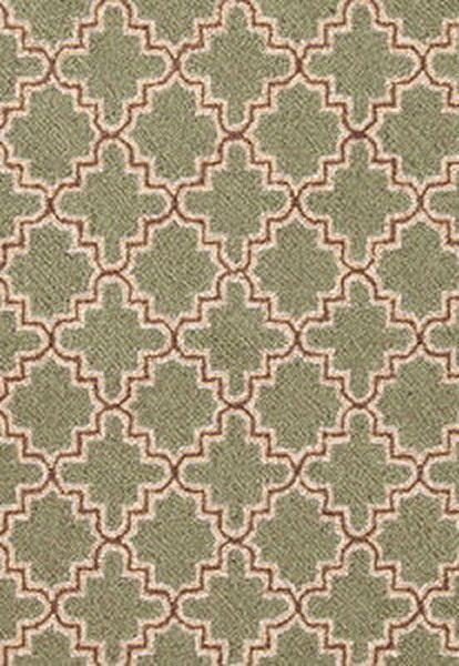 Dash And Albert Tin Basil Wool Micro Hooked Rug For Sale Cottage