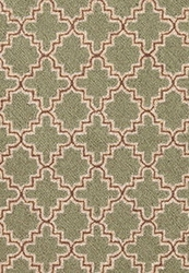 Plain Tin Basil Wool Micro Hooked Rug<font color=a8bb35> 20% OFF</font>