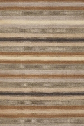 Tin Ladder Stripe Wool Woven Rug <font color=CF2317>Discontinued</font>