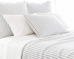 Town And Country Grey Matelasse Coverlet