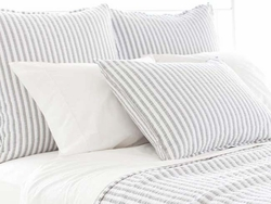 Town And Country Grey Matelasse Sham<font color=a8bb35> 20% OFF</font>