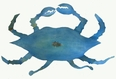Uncooked Crab Metal ARt