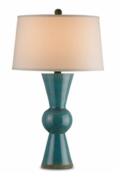 Upbeat Table Lamp - Teal